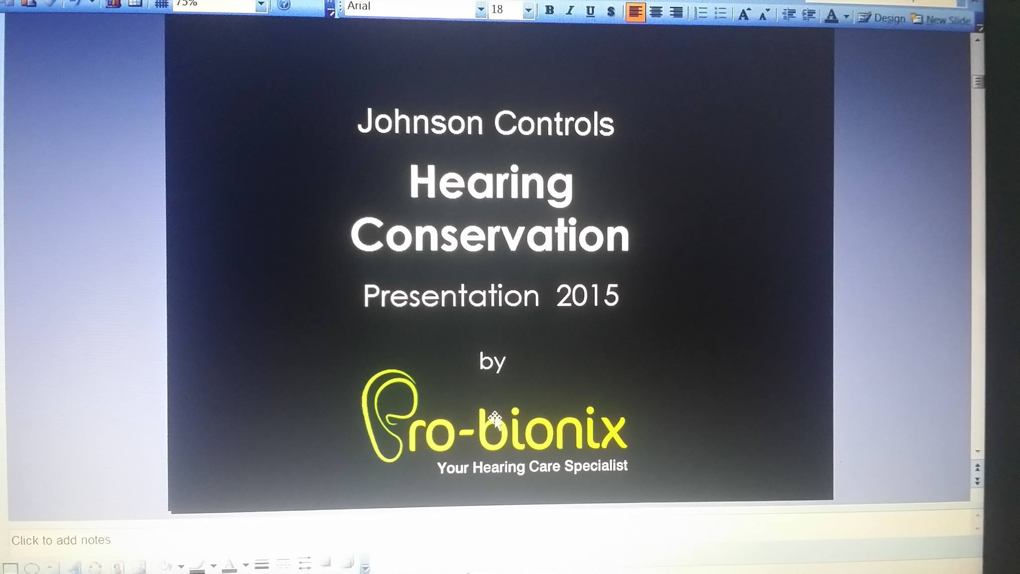 Johnson Controls Hearing Conservation 2015 Hansaton South East Asia Basic Of A Cro Probionix At Singapore On The 24th Aug